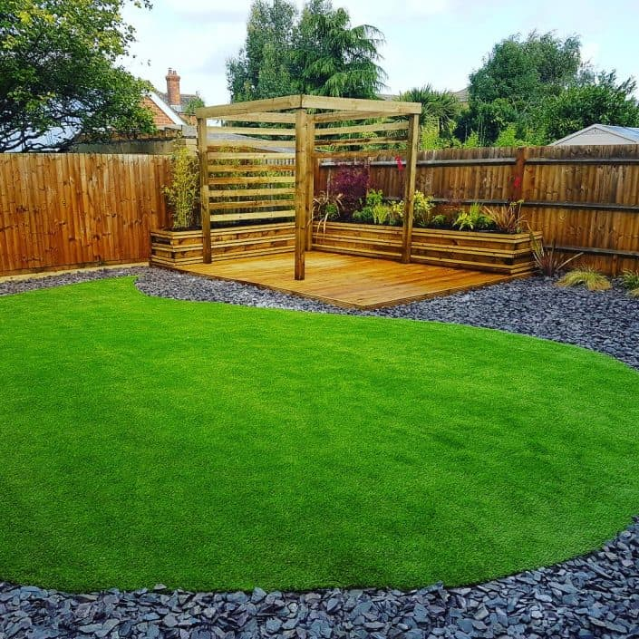 Artificial Grass Garden Design