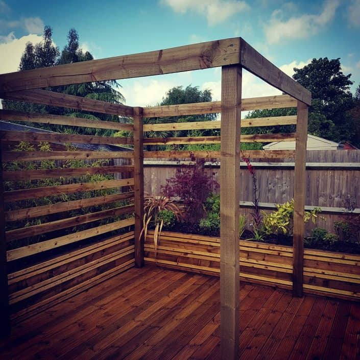 Contemporary Garden Pergola