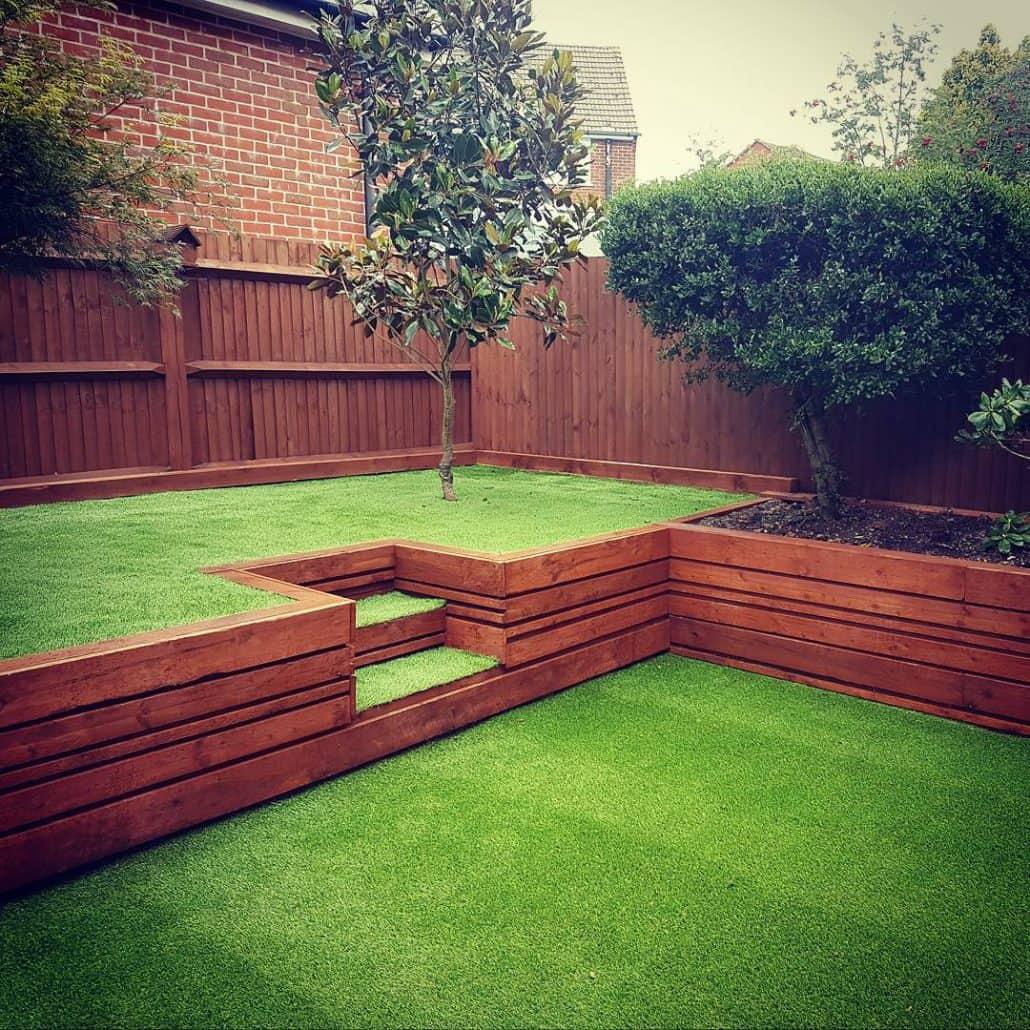 Astro Turf Garden >> Solent Garden Services - Landscaping, Gardeners, Decking & Patios