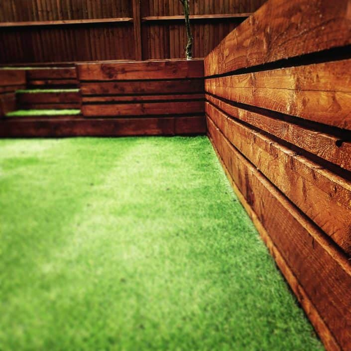 Garden Wooden Sleepers