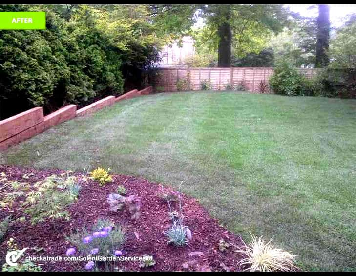 Cowboy Builders Featured Garden