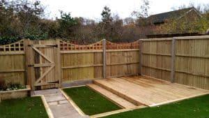 Garden Fencing & Decking