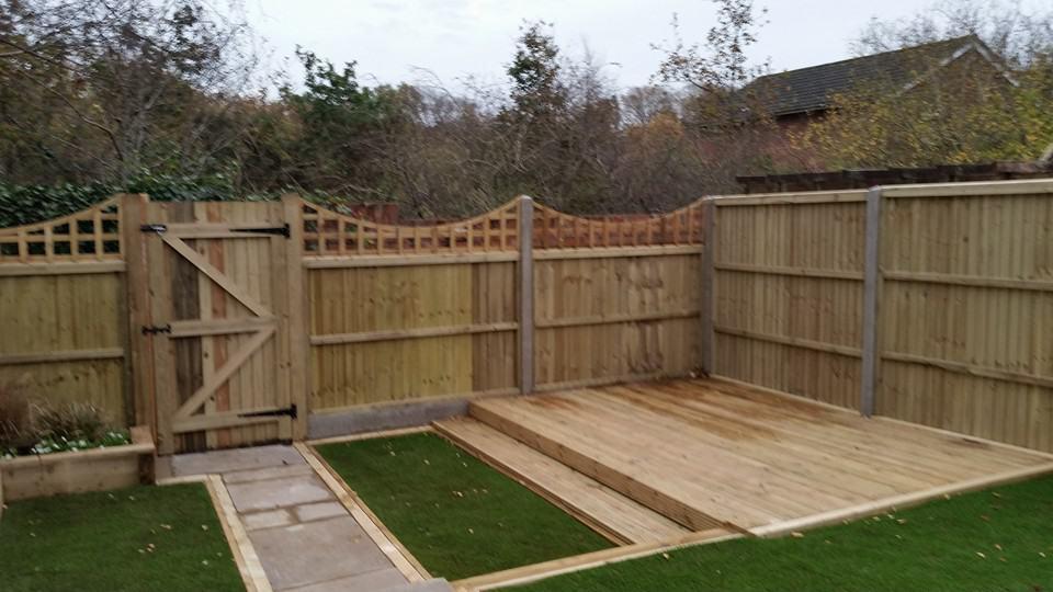 Garden Fencing Decking Solent Garden Services