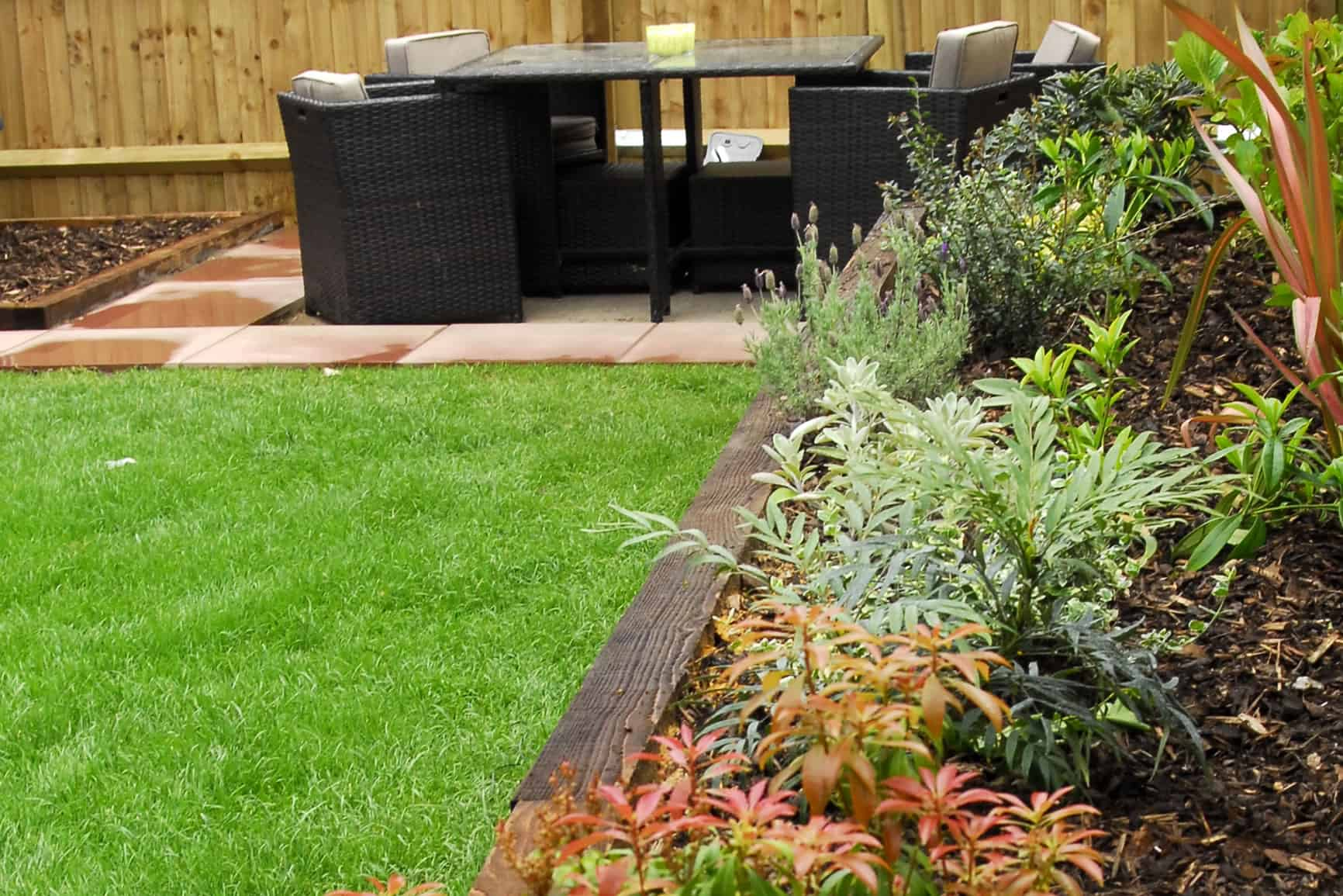 Hard and soft landscaping home design for Commercial landscaping