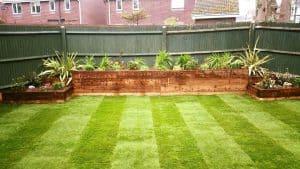 Professional garden landscaping