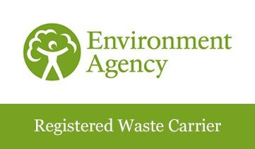 We are an Environment Agency registered waste carrier
