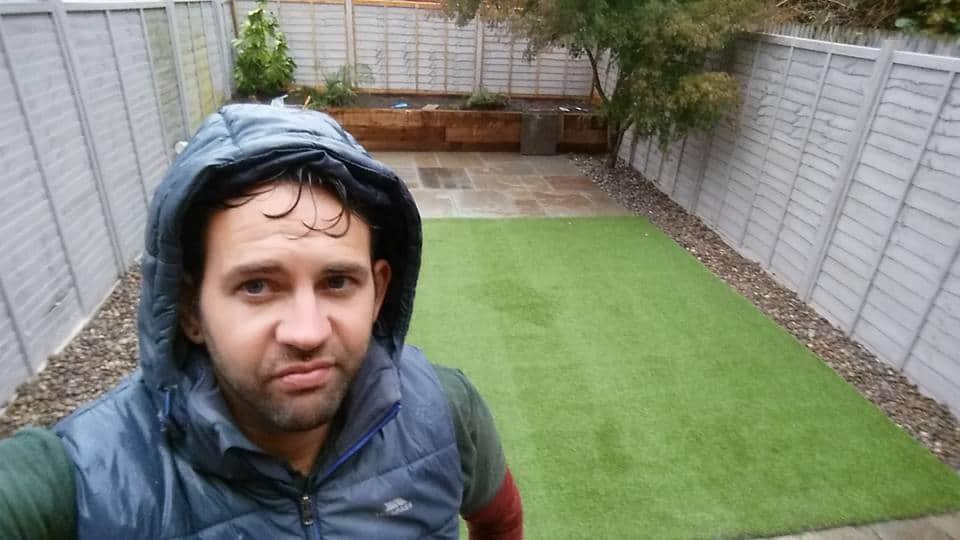 Aureum Artificial Lawn Laid