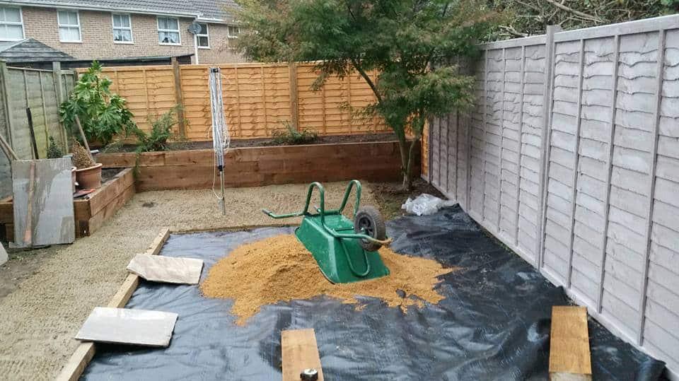 Aureum Artificial Lawn Preparation