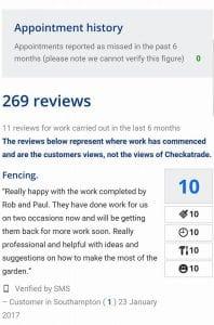 Checkatrade Review by Gemma