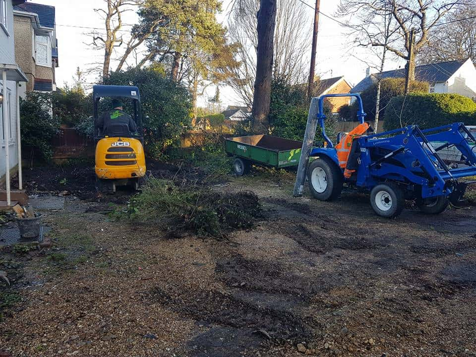 Driveway Groundworks in Southampton