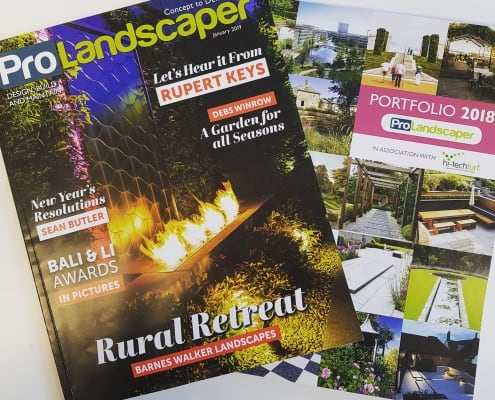 Pro Landscaper magazine cover Jan 2019