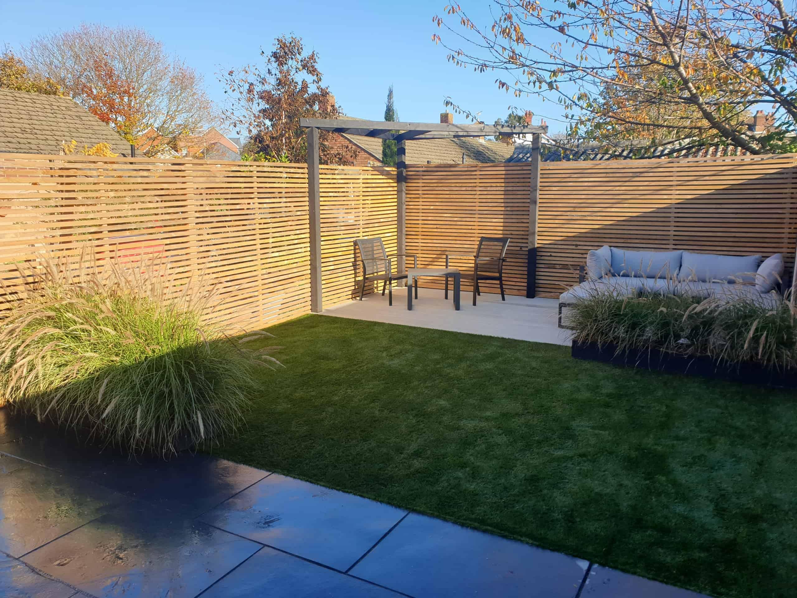 An Idyllic Garden Design featuring Namgrass