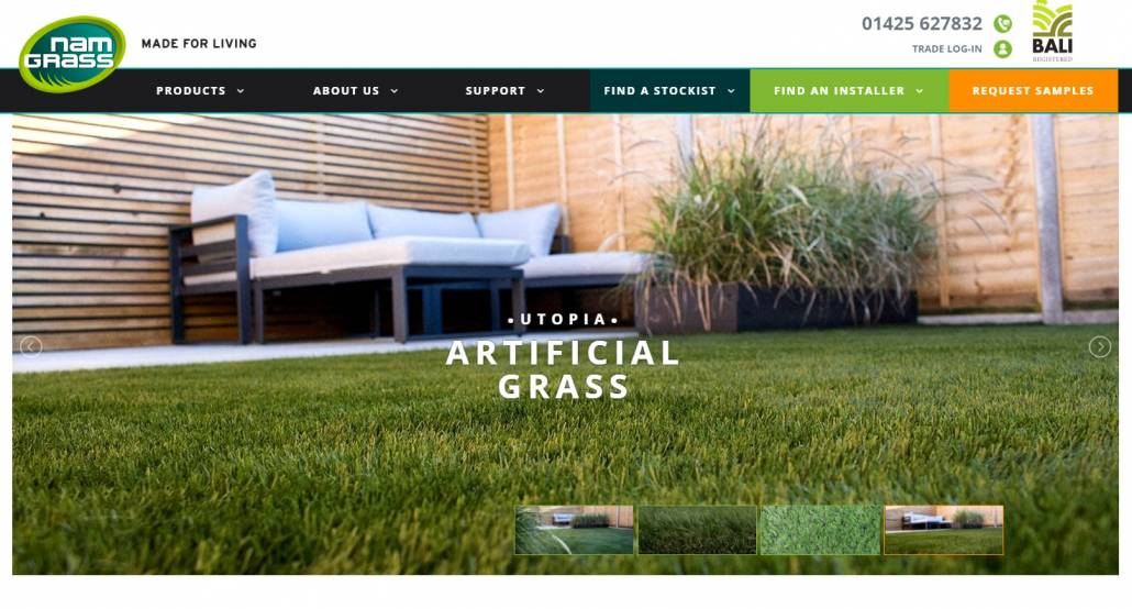 Namgrass Recommended Installer