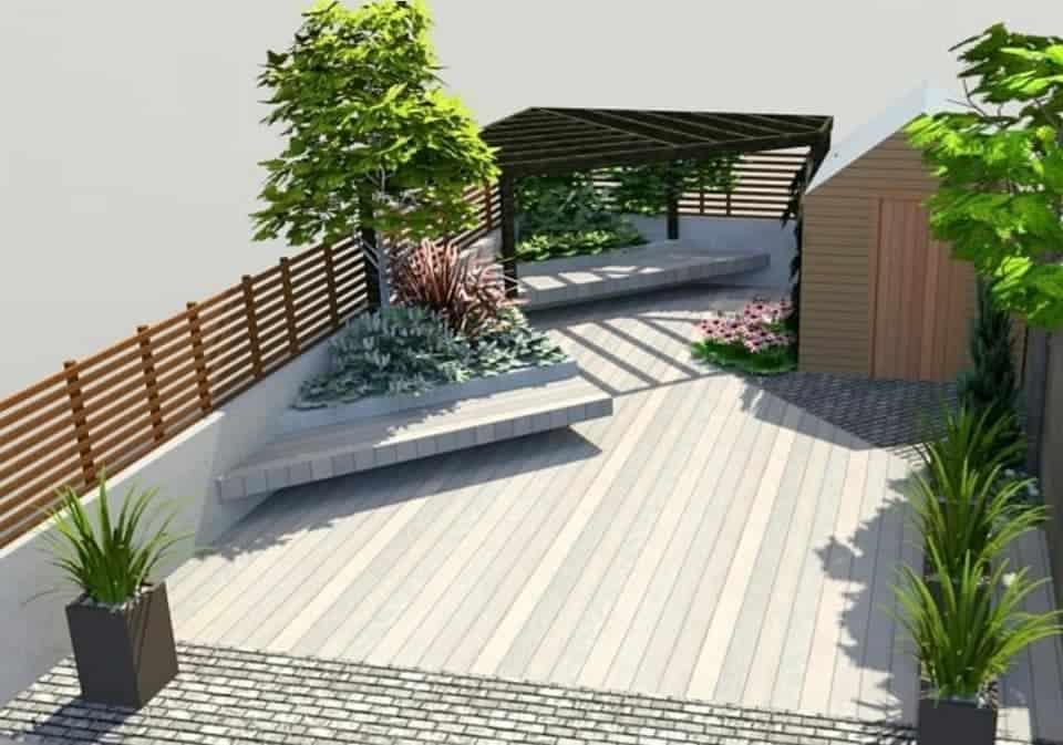 CGI Garden Design