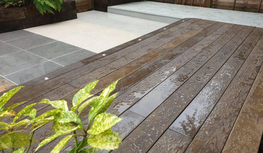 Millboard garden decking